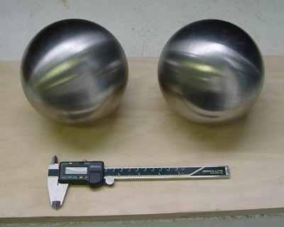 Tungsten Balls