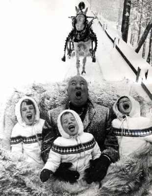 Alfred Hitchcock And Kids