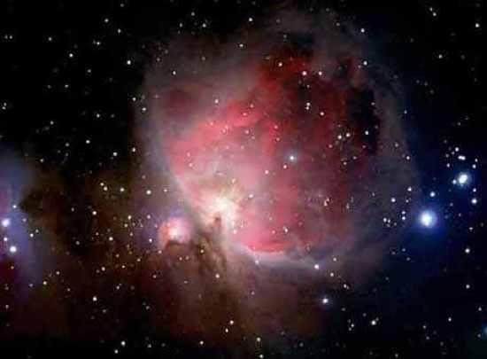 Dazzling Image Of Orion Nebula