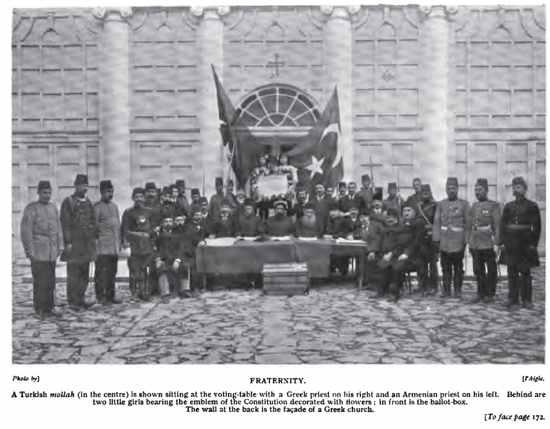 Young Turk Revolution - Decleration - Armenian Greek Muslim Leaders