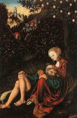 394Px-Lucas Cranach - Samson And Delilah