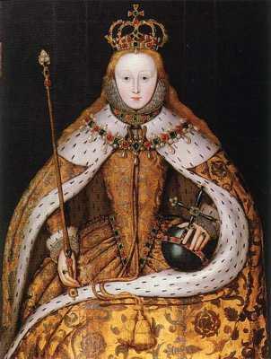 453Px-Elizabeth I Of England - Coronation Portrait