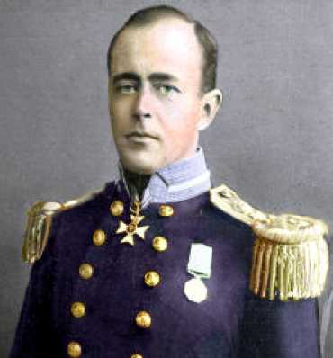 Robert Falcon Scott Colored