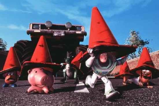 Toystory2 Cones