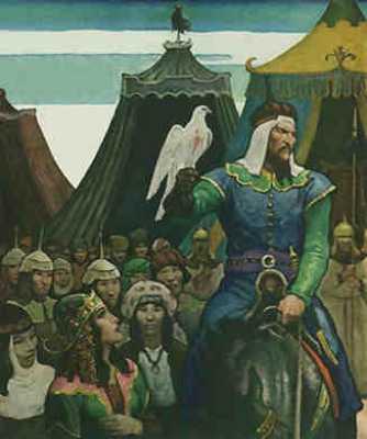 Katana-Genghis-Khan