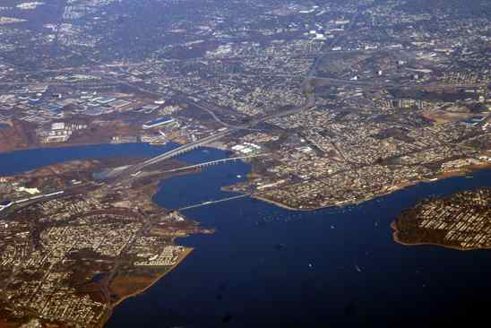 Raritan River And Raritan Bay