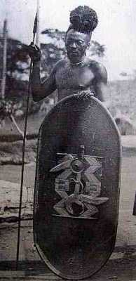 Azande Warrior