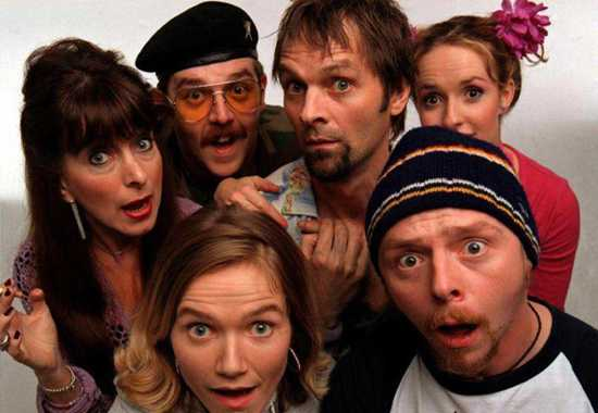 Spaced Bbc Tv Show Image Simon Pegg And Cast