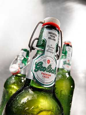 Grolsch Imported From Holland Packshot
