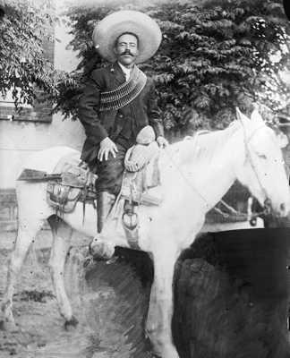 Pancho Villa Horseback