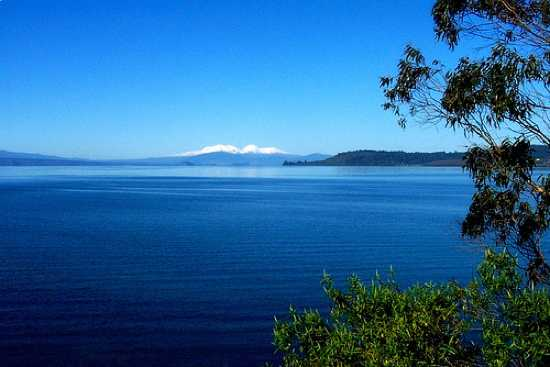 Taupo Lake, New Zealand