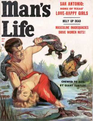 Man's Life, May 1957. Cover By Will Hulsey - Www