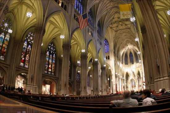 Mid054-St-Patricks-Cathedral-Interior