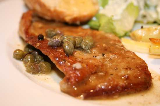 Veal Scallopini Lemon Capers What Wine