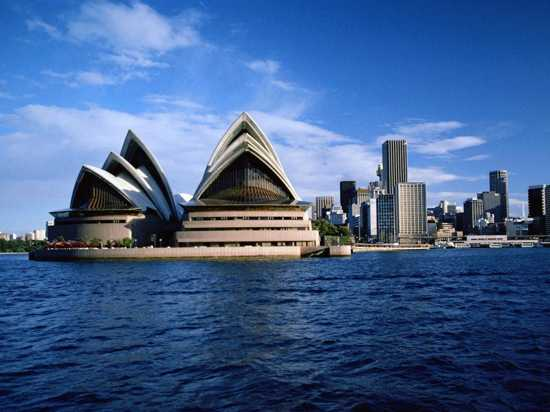Australia, Sydney - Opera House