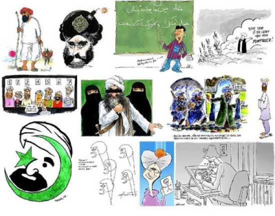 Muhammad-Cartoon