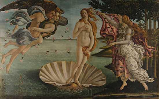 350Px-Sandro Botticelli - La Nascita Di Venere - Google Art Project