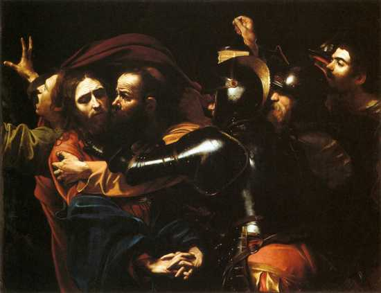 Caravaggio - Taking Of Christ - Dublin