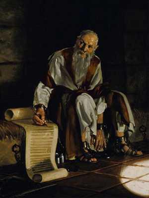 Paul Writing Epistle