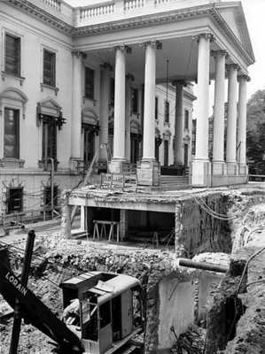 White House Basement Recontruction 1950