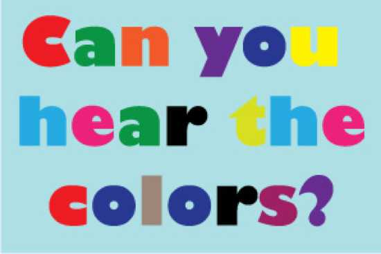 Letters Have Colors