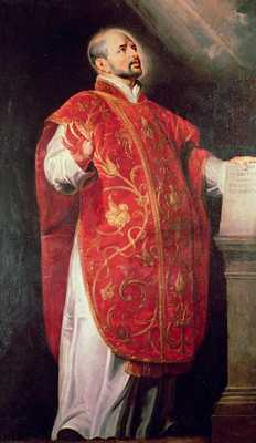 St Ignatius Of Loyola %281491-1556%29 Founder Of The Jesuits