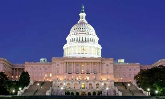 Capitol Building At Night Washington Dc 2