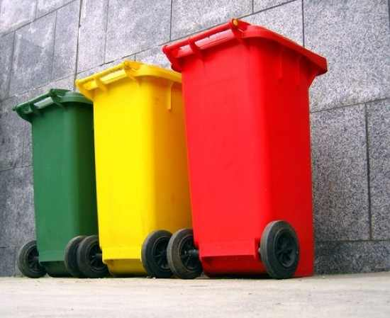 Trash-Cans-For-Garbage-Separation-By-Shi-Yali-Asiastockimages-Com-Qpps 394455202778997
