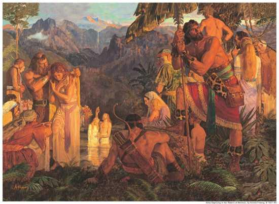 Artbook  076 076  Almabaptizesinthewatersofmormon