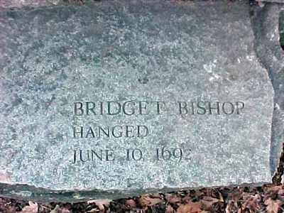 Bridget Bishop witch