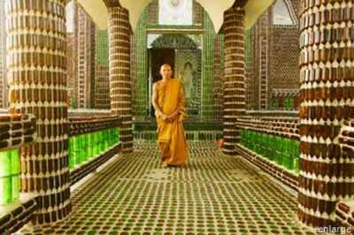 Buddhist-Beer-Bottle-Temple