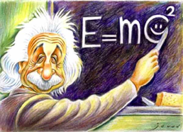 Einstein E Mc2Formula