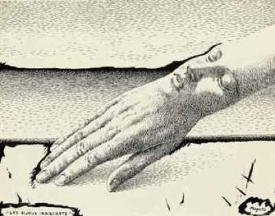 Rene Magritte Les Bijoux Indiscrets D5404187H-1