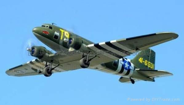 C47 Transporter 2 4Ghz 4Ch Electric Rc Airplane Plane Ready-To-Fly