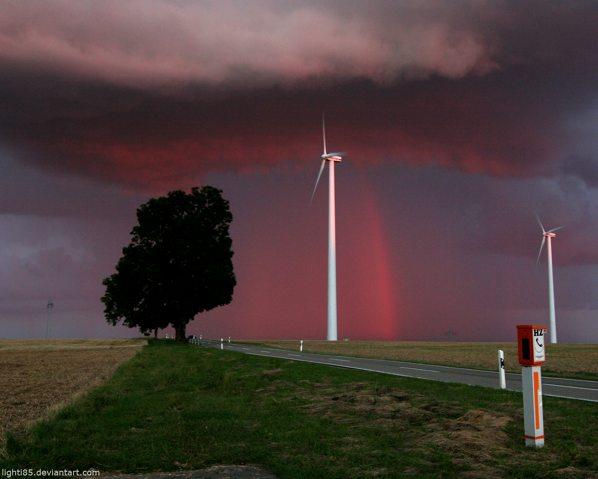 Red Rainbow By Lighti85