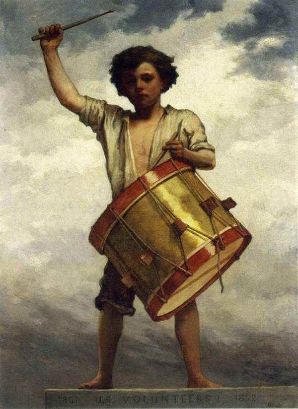 The Drummer Boy William Morris Hunt