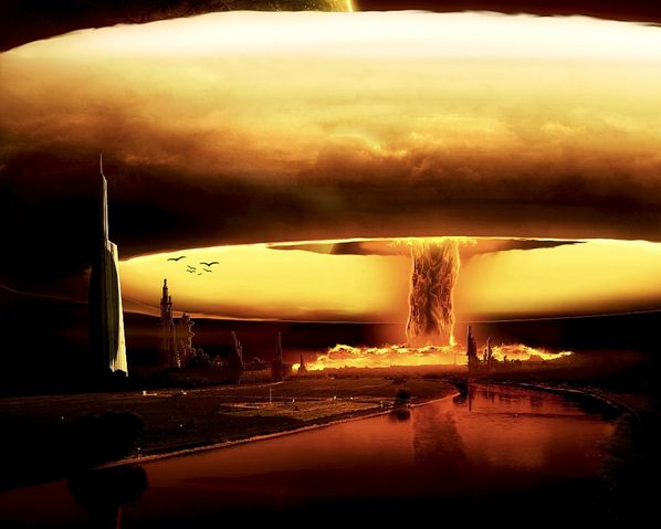 Explosion Of Nuke