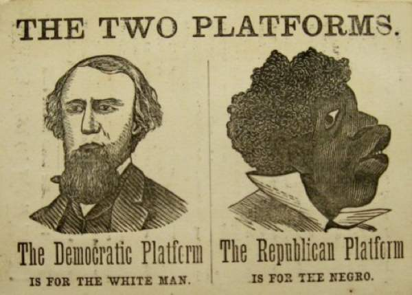 Racist Democrat Poster
