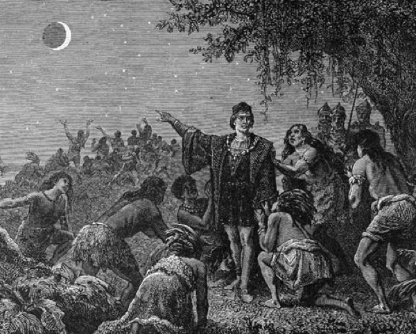 Columbus And Eclipse