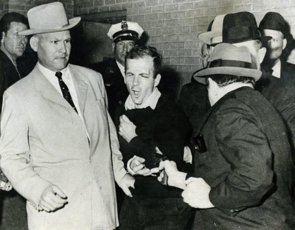 Lee Harvey Oswald Shot