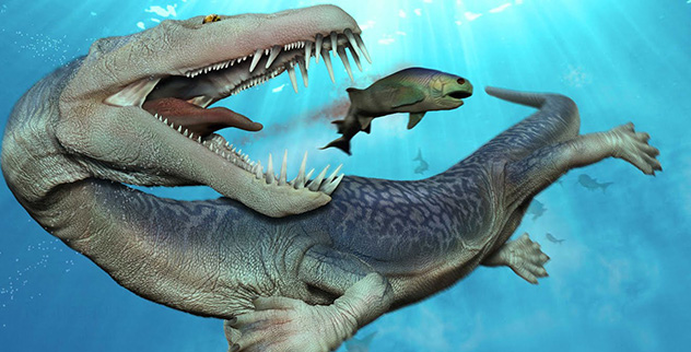 10 Terrifying Most Deadliest Prehistoric Sea Monsters ... |Scariest Prehistoric Sea Creatures