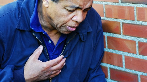 African-American-Male-Having-Chest-Pains-Via-Shutterstock