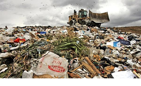 Plastic-Bag-In-Landfill