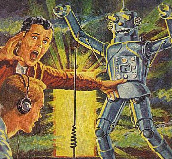 A Robot Attacks