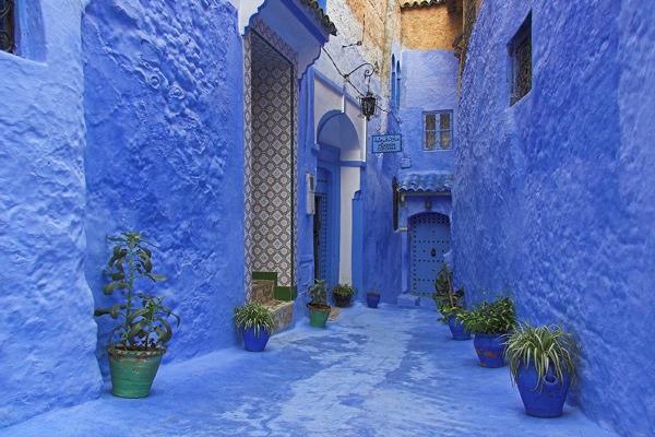 3-Morocco-Blue-City