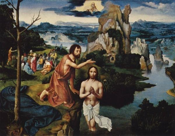 Joachim-Patinir Baptism-Of-Jesus