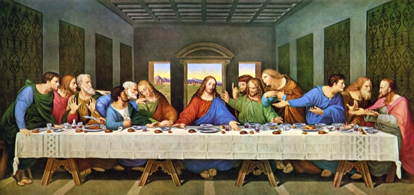 The Last Supper Restored Da Vinci