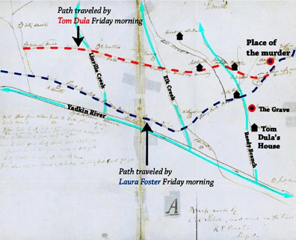 Dula Thomas Map