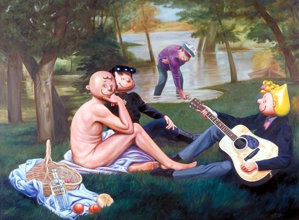 Painting Schultzpicnic