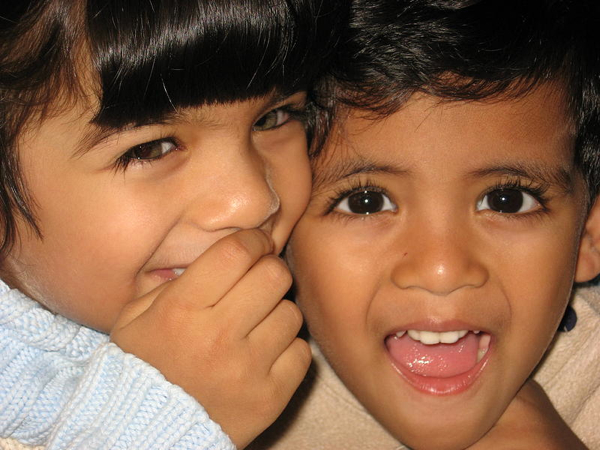 Boy And Girl From Mauritius